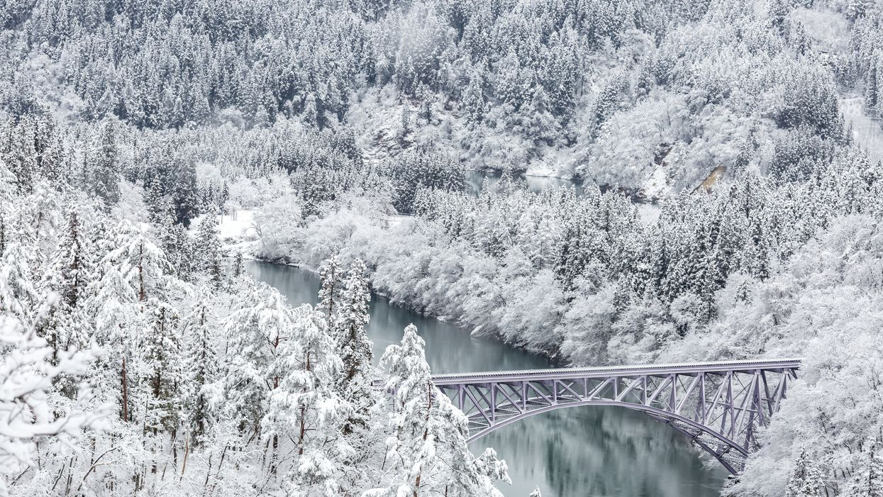 This Winter Wonderland Train Ride Will Take You Through The Canadian Rockies