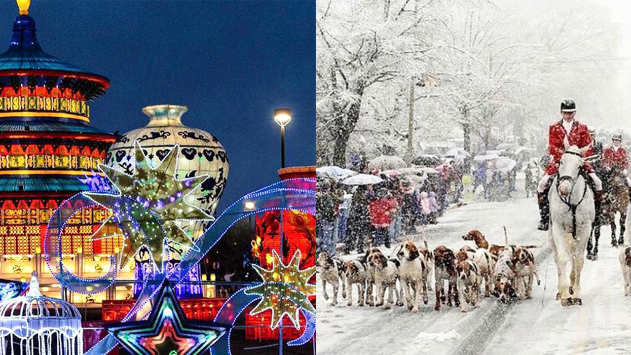 Here Are The 15 Best Places To Visit In Virginia If You're Obsessed With Christmas