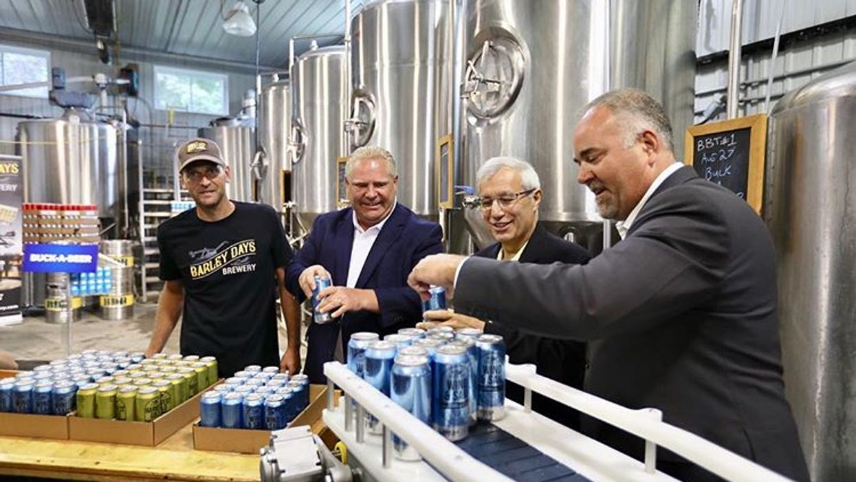 Doug Ford Is Being Accused Of Using Alcohol To Distract Ontarians From Bigger Issues In The Province