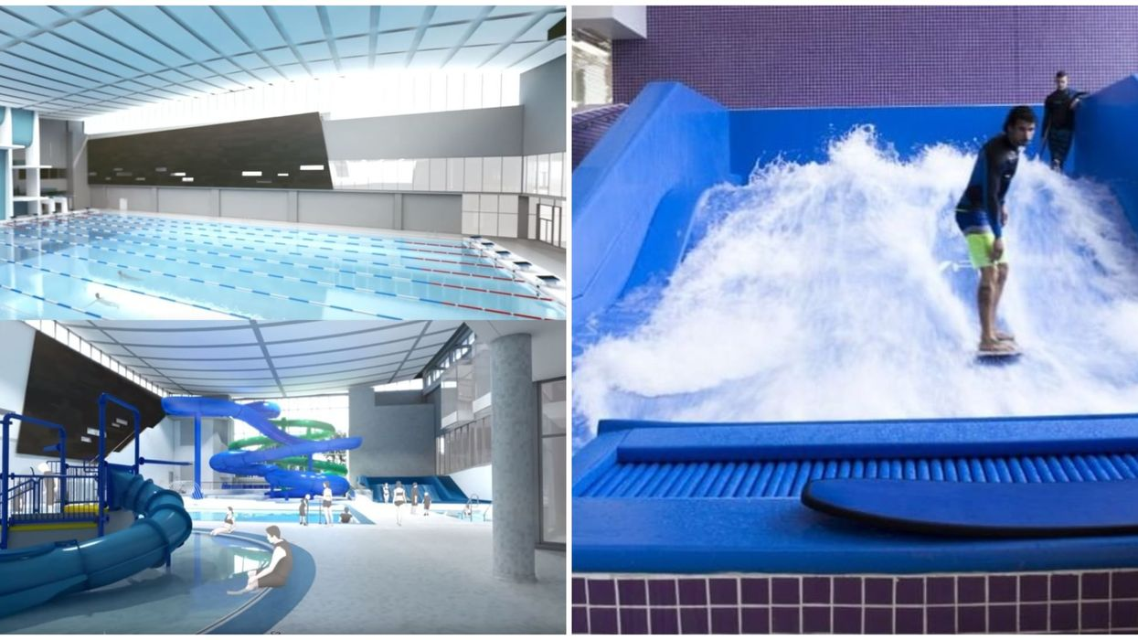 The World's Biggest YMCA Is Opening In Canada Next Month And They Have A Giant Indoor Surfing Pool (PHOTOS)