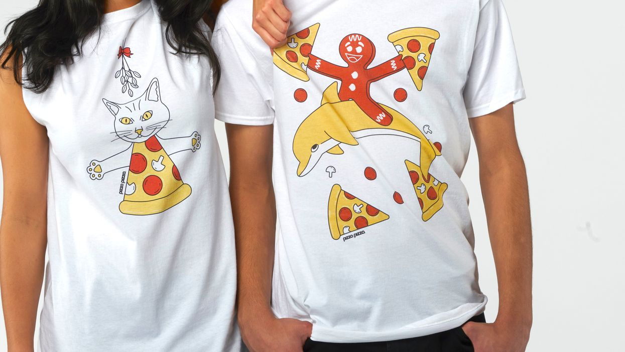 Don't Panic But Pizza Pizza Is Dropping Pizza-Themed Holiday Shirts This Season