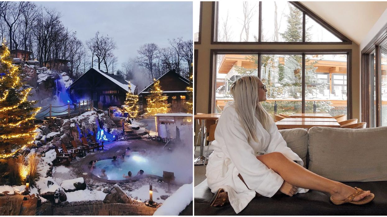 This Stunning Nordic Spa Near Ottawa Is Hosting A Huge New Year's Event This Year