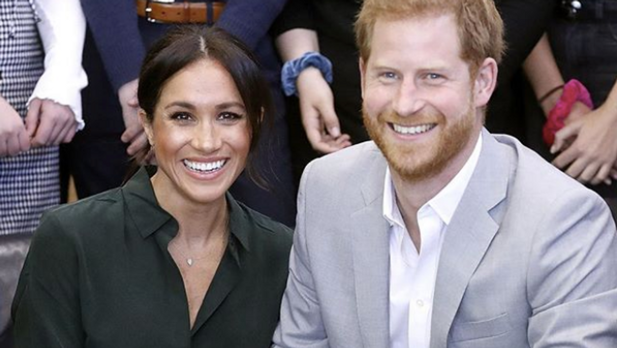 Meghan Markle And Prince Harry Just Released Their Christmas Card, Which Is A Never Before Seen Photo Of Their Wedding
