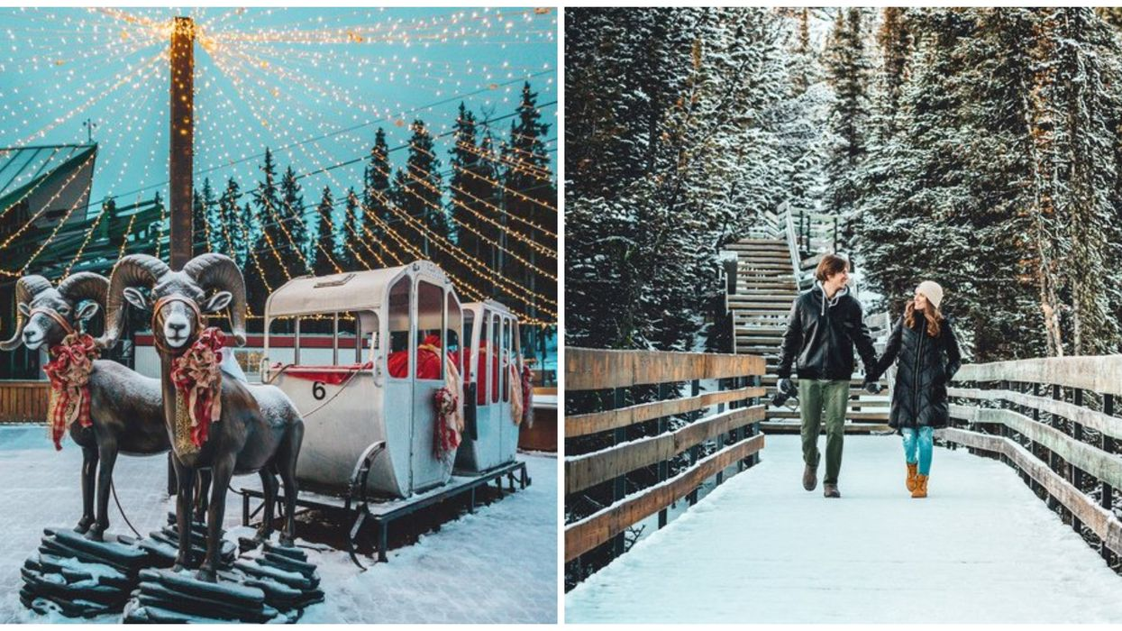 This Mountaintop Summit In Canada Is Being Transformed Into A Magical Christmas Experience