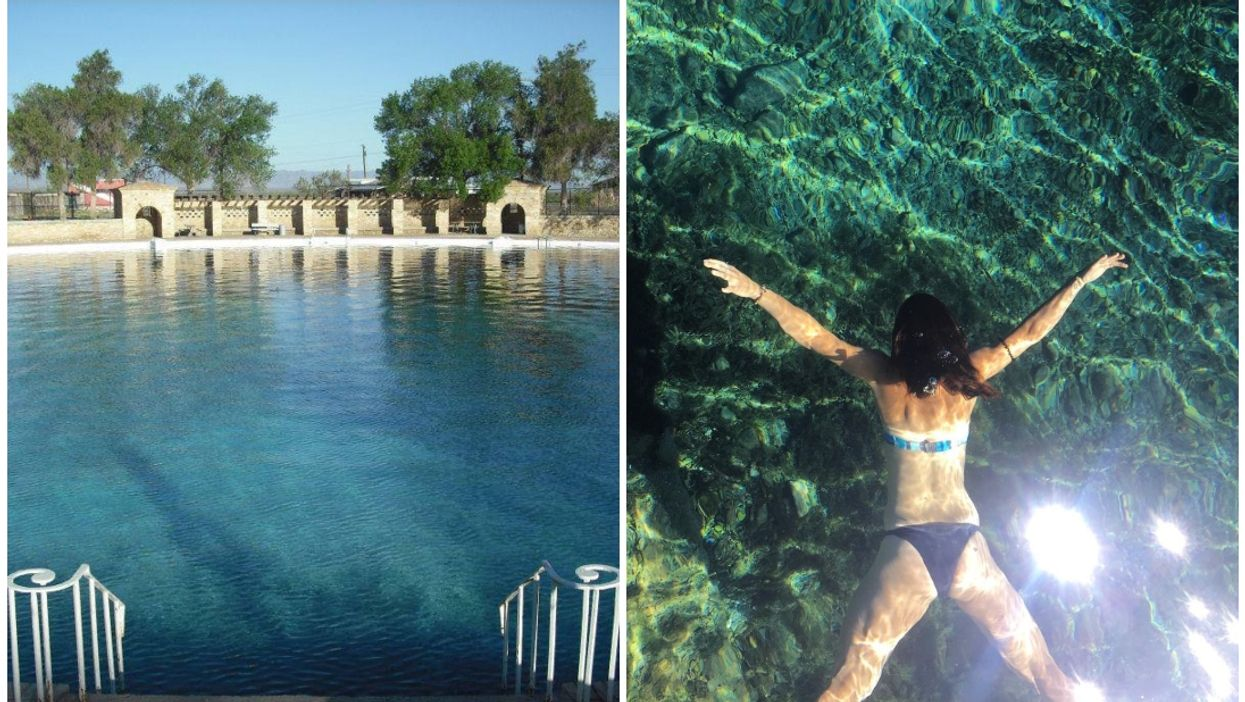Texas Is Home To The World's Largest Freshwater Pool And It's In The Middle Of A Desert
