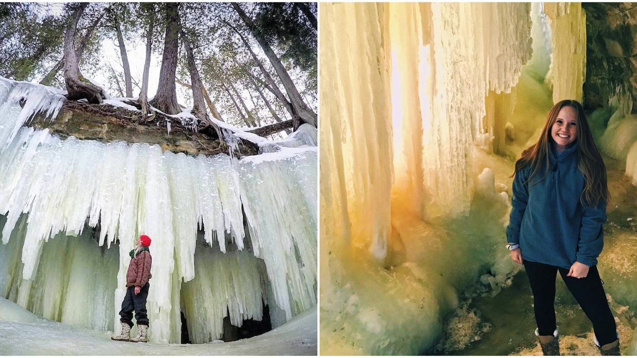 These Surreal Frozen Caves Near Ontario Need To Be On Your Winter Bucket List