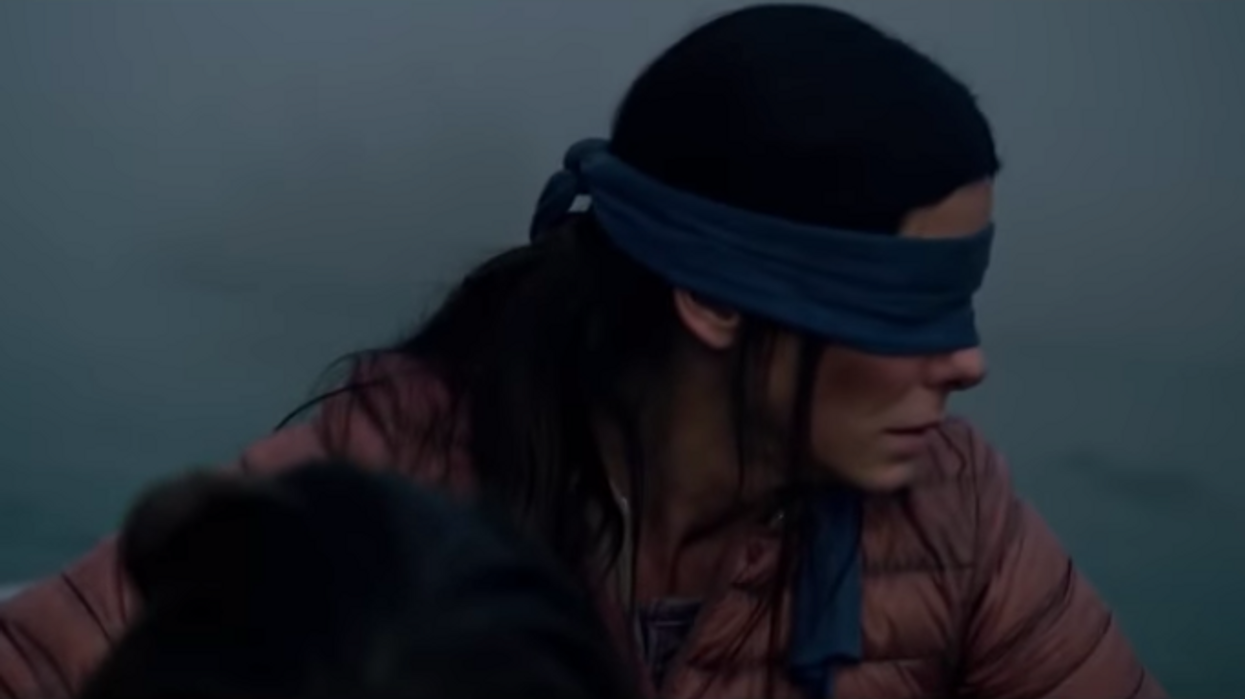 'Bird Box' Is Finally Out On Netflix And People Actually Had To Stop Watching Half Way Through