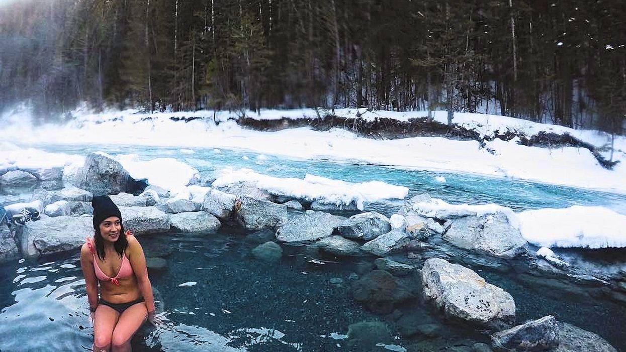 These Surreal Winter Hot Springs Are A Hidden Paradise In Canada