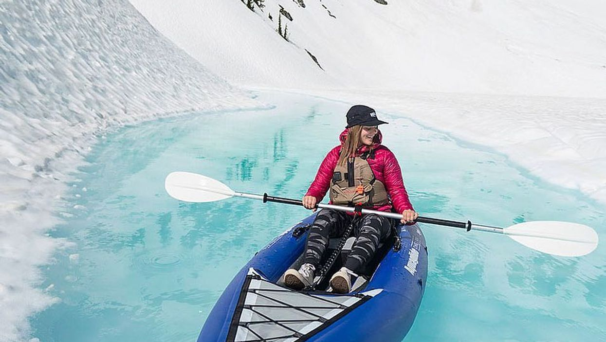 You Can Kayak Through Glaciers In Canada And It's Magical