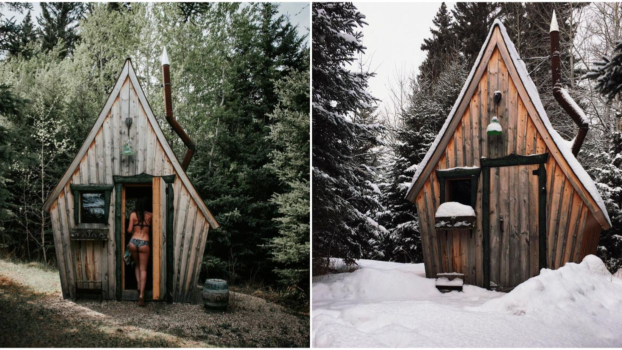 You Can Stay In These Enchanting Cabins Hidden Inside A Forest In Canada