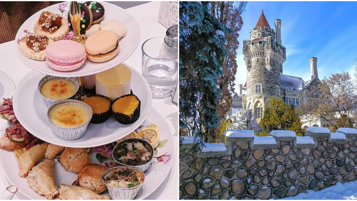 Toronto's Casa Loma Is Hosting A Super Classy Afternoon Tea This Winter