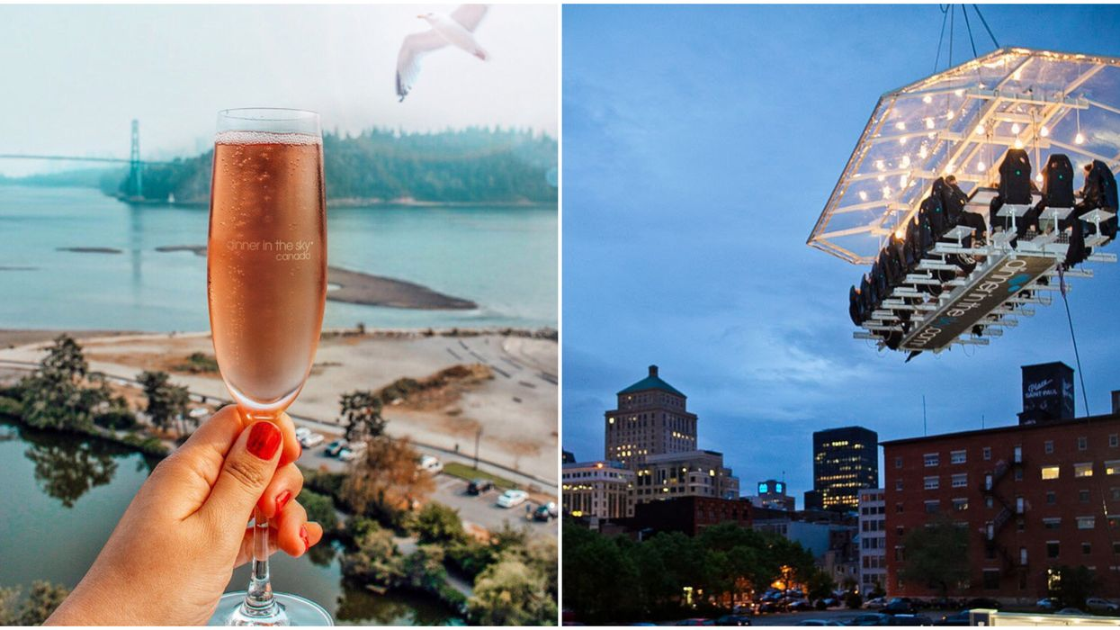 You Can Dine 150 Feet In The Air At This Surreal Restaurant In Canada