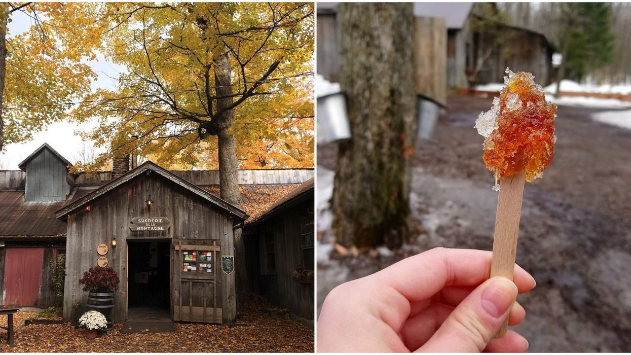 This Adorable Sugar Shack In Canada Needs To Be On Your Winter Bucket List