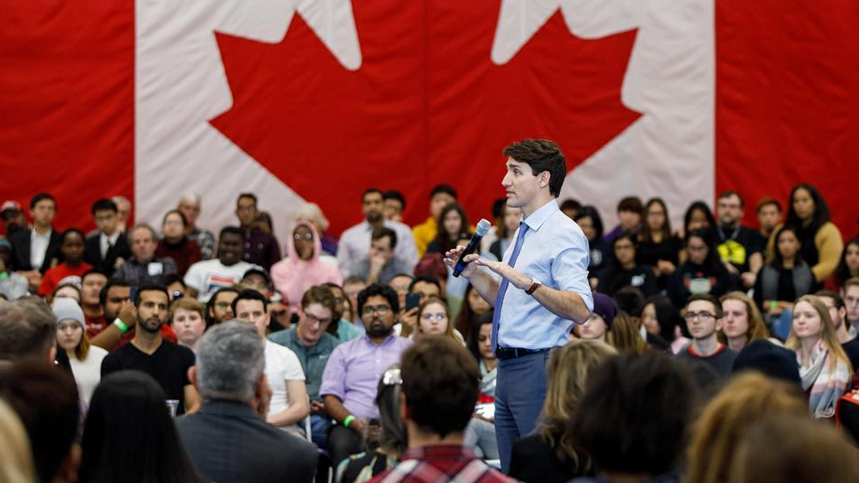 Justin Trudeau Is Getting Destroyed Online For Flawlessly Avoiding A Canadian's Question At A Town Hall (VIDEO)