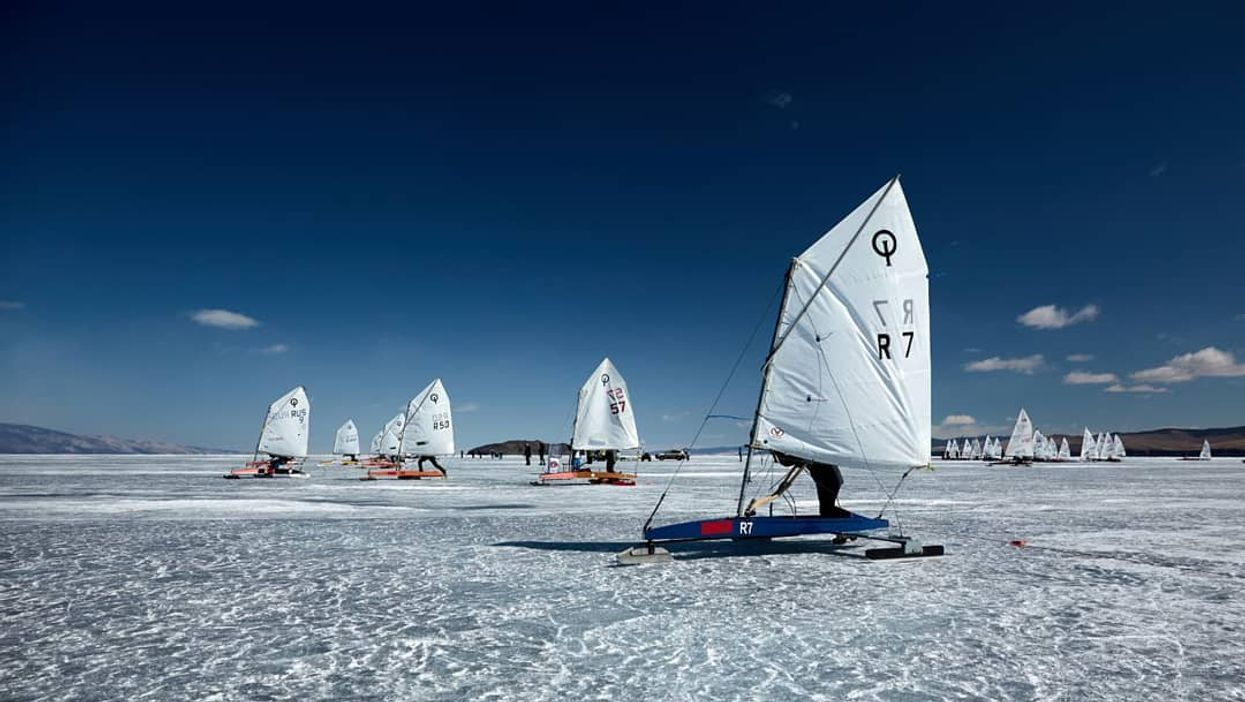 Ice Sailing Is The Newest Winter Activity And You Can Try It At This Lake In Canada
