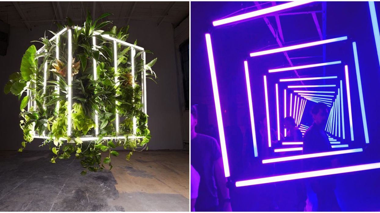 You Can See These Mind Bending Art Installations In Toronto This Month