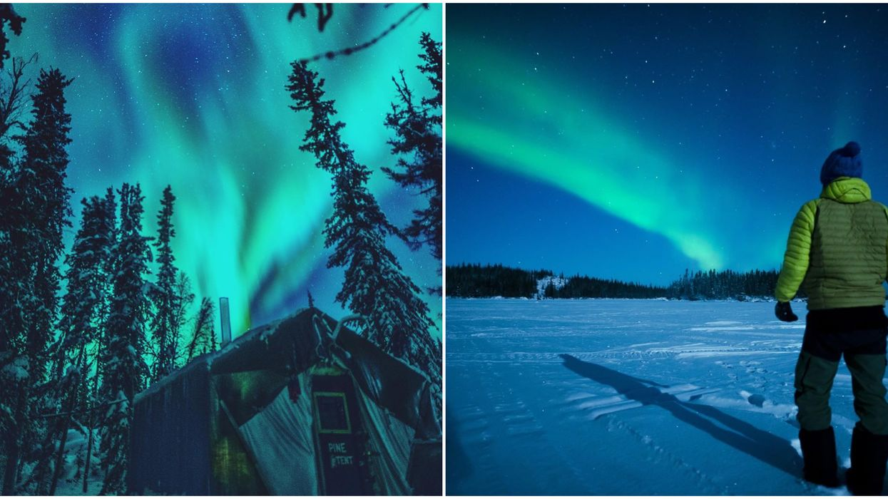 You Can Sleep Under The Northern Lights At This Stunning Resort In Canada