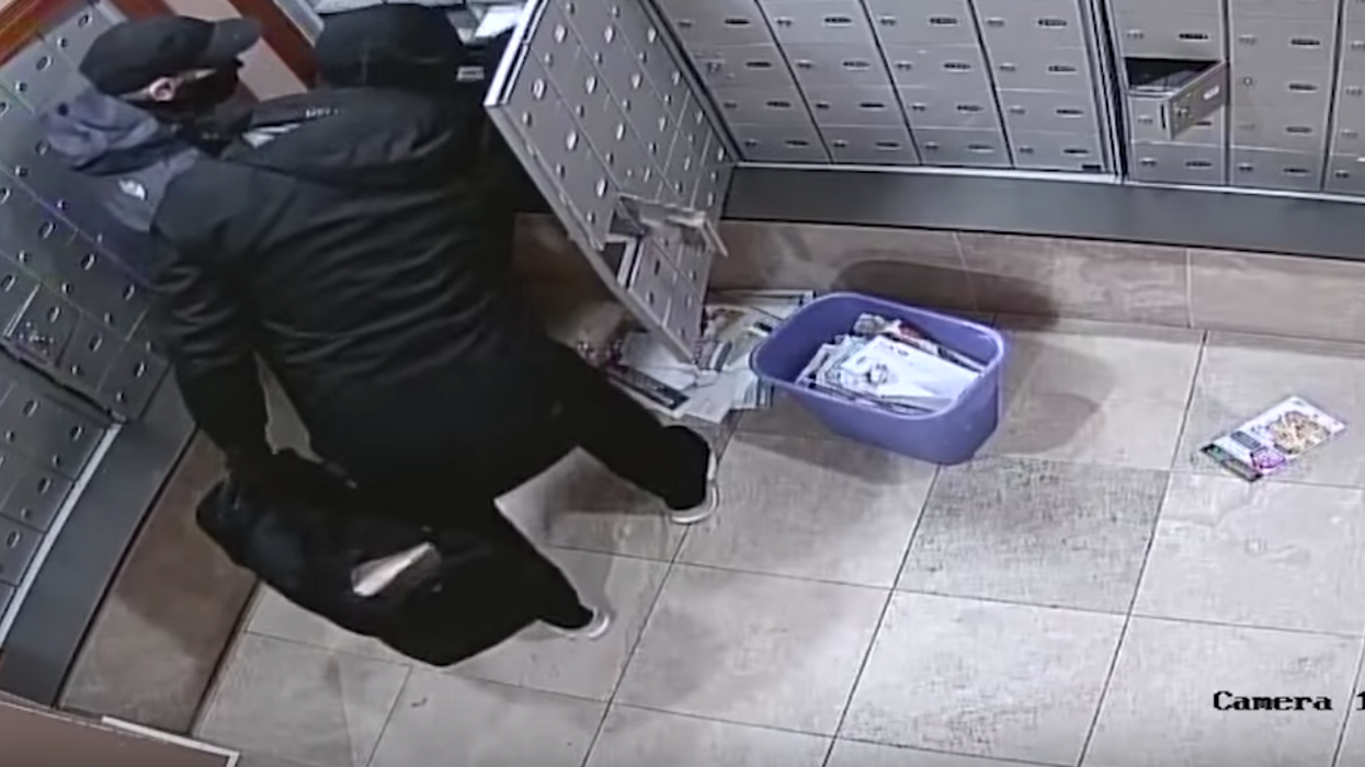 Watch These Thieves Steal From Hundreds Of Canadian Mailboxes In Only A Few Minutes (VIDEO)