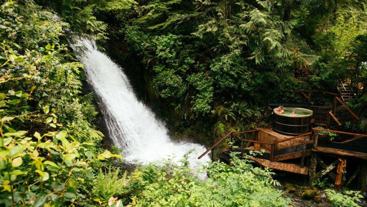 You Can Sleep Next To A Rushing Waterfall In The Forest At This Hidden Resort In Canada