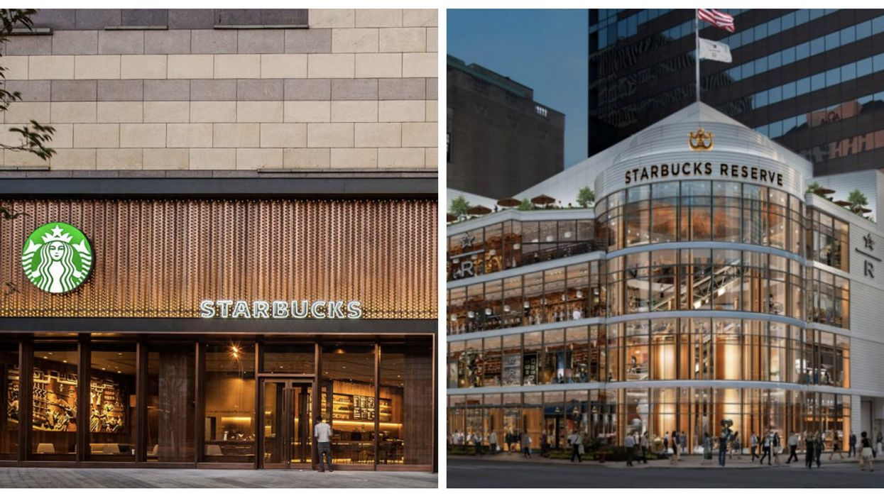 """Starbucks Plans To Open Several Ultra Luxurious """"Reserve Bars"""" In Canada"""