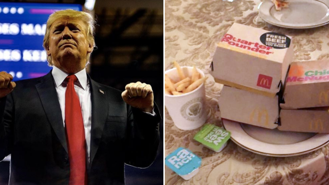 South Carolina's Tigers Were Served Fast Food By Trump After Their Win And People Are Livid