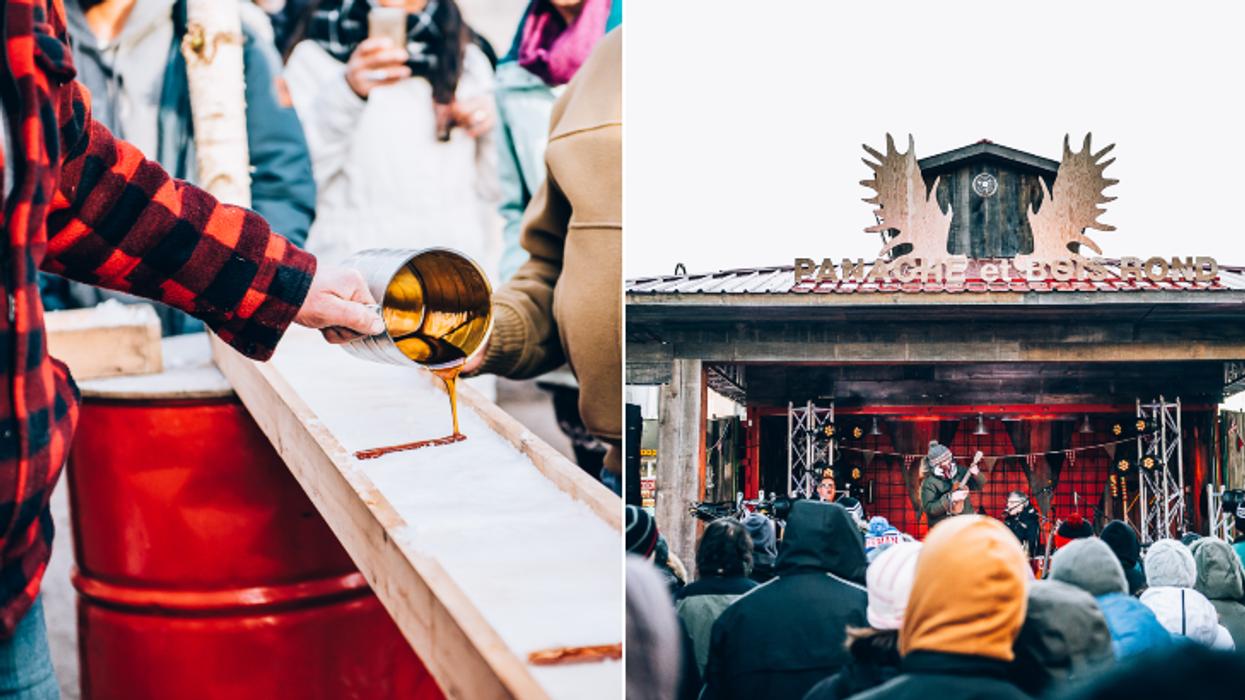 Un festival cabane à sucre GRATUIT débarque bientôt à Montréal et tu vas vouloir aller t'y sucrer le bec