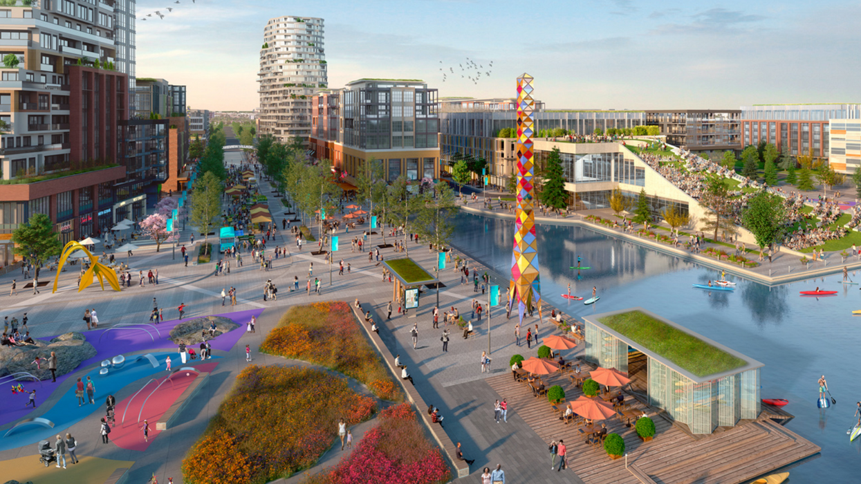This Is What Mississauga's Massive New Lakeside Village Will Look Like And It's Stunning (PHOTOS)