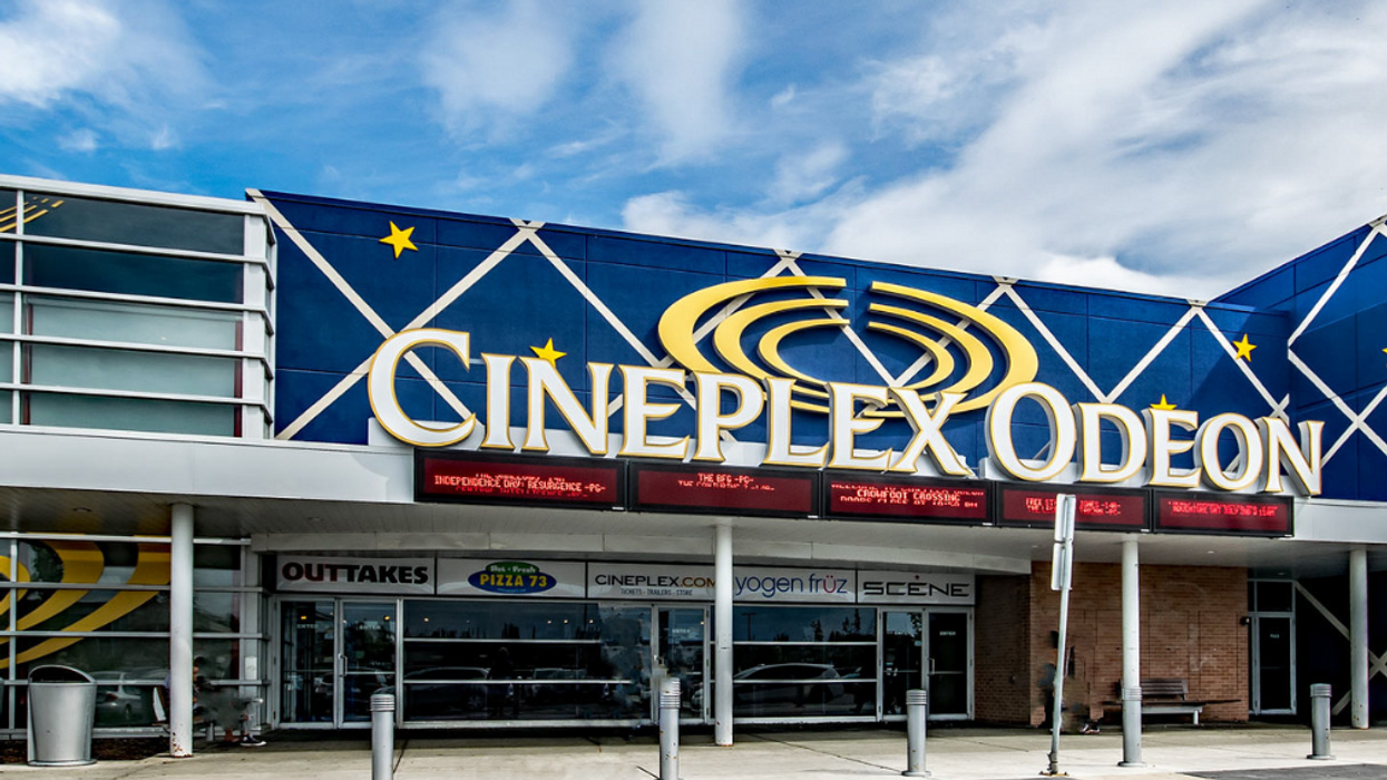 Cineplex Is Giving Away Free Popcorn Today At Their Theatres Across Canada