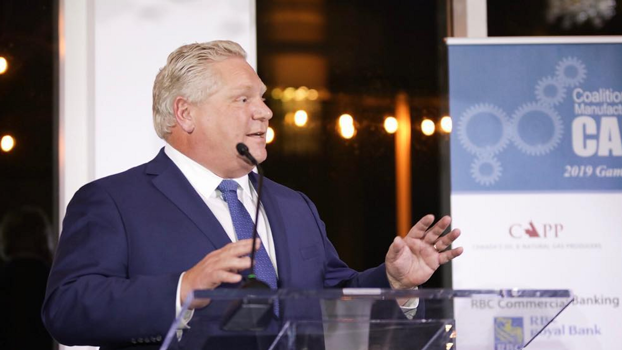 A Photo Of Doug Ford At Trump Tower Has Resurfaced And Ontarians' Responses Are Getting Vicious