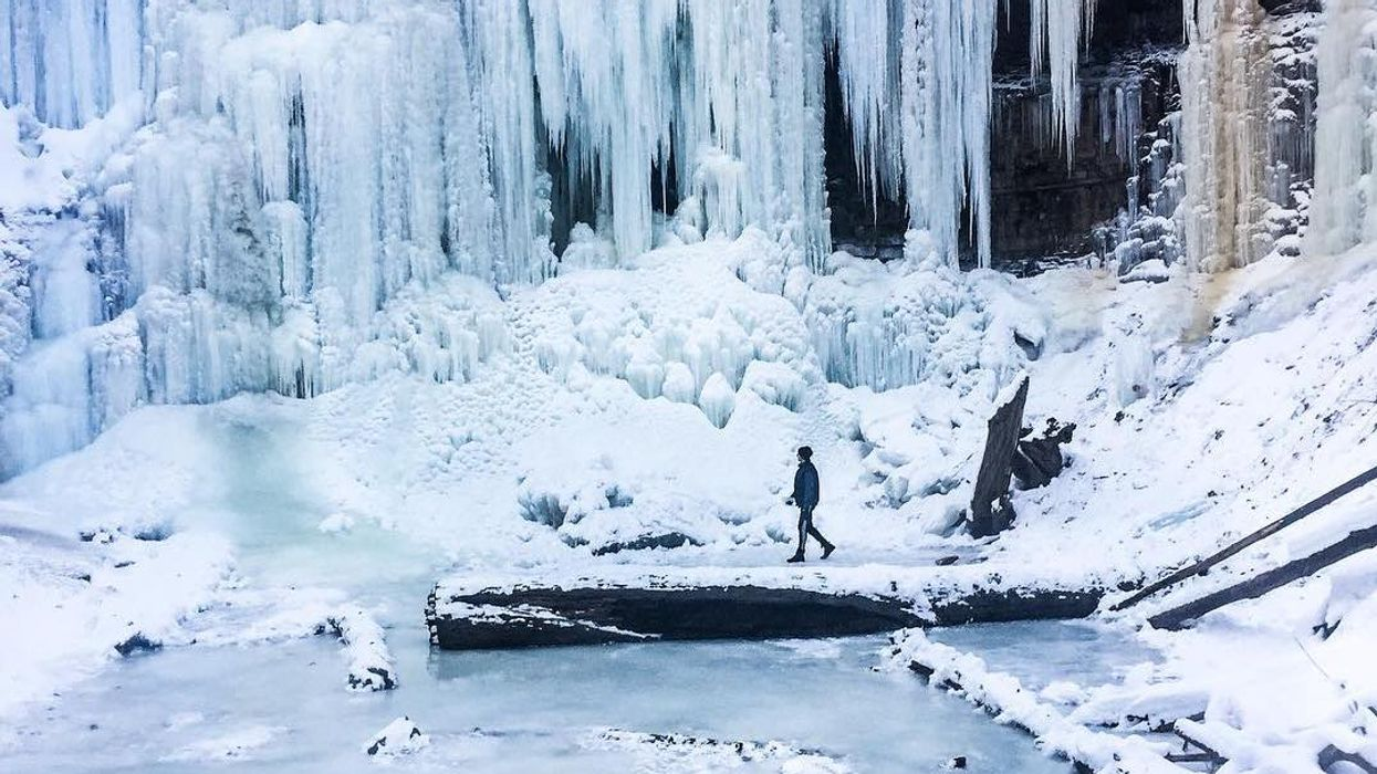 14 Trails That Will Lead You To Frozen Waterfalls In Ontario This Winter
