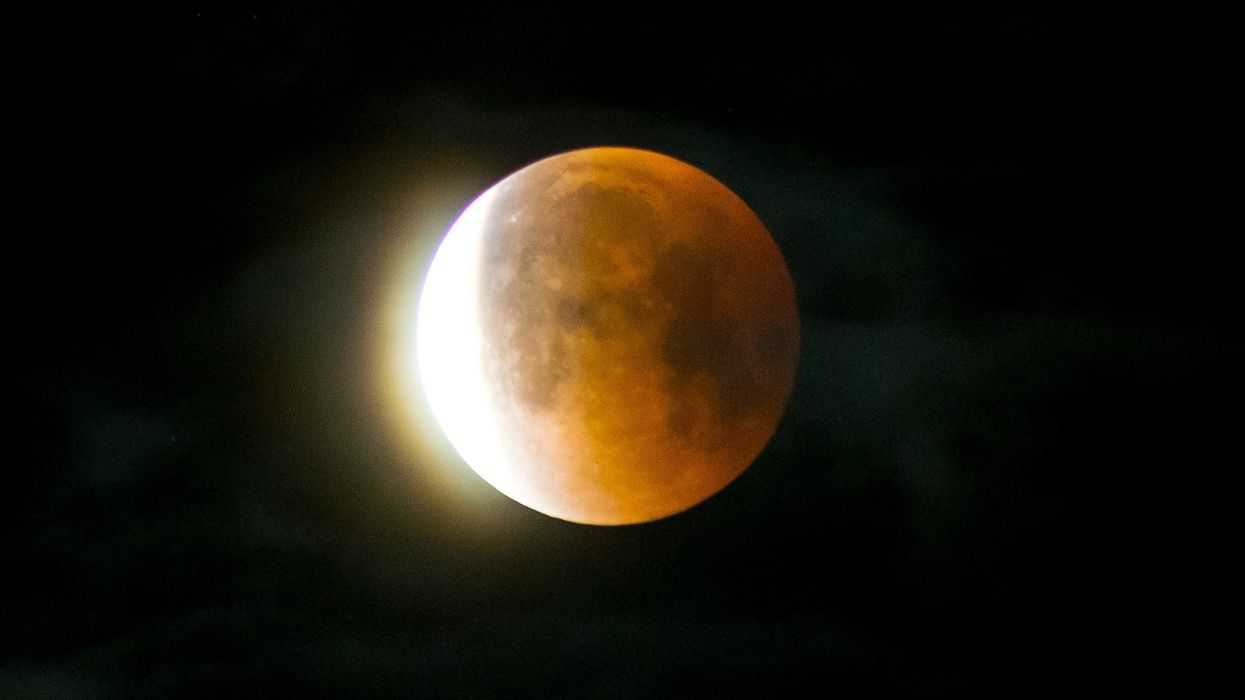 A Rare Super Blood Wolf Moon Eclipse Will Light Up Skies Across Canada This Weekend