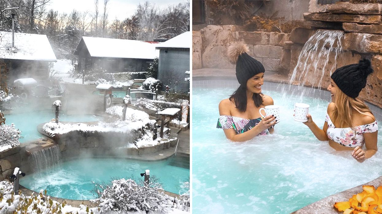 12 Magical Winter Spas For Under $70 In Ontario