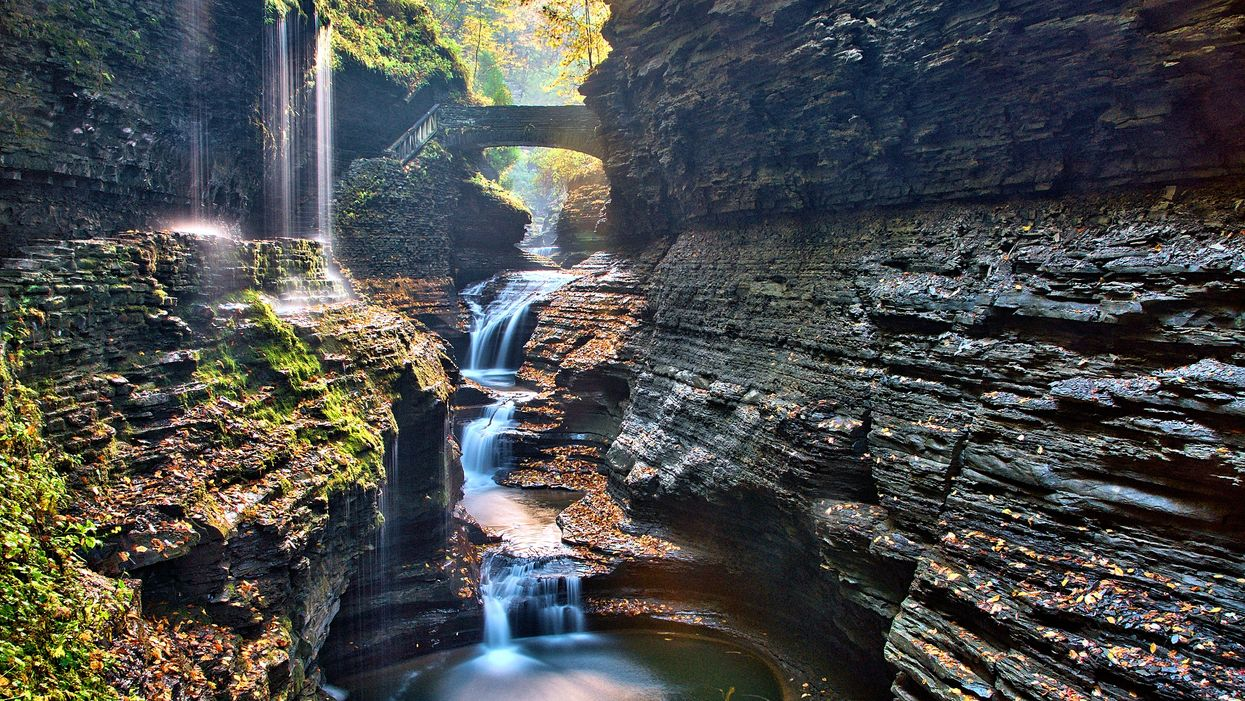 This 3.2 Km Gorge Trail Will Take You Past 19 Waterfalls Near Ontario