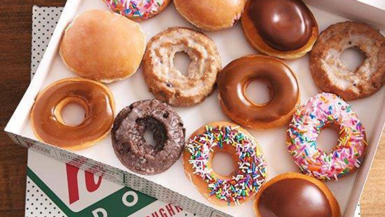 Krispy Kreme Is Giving Away Free Donuts Across The US, Here's How You Can Get Some