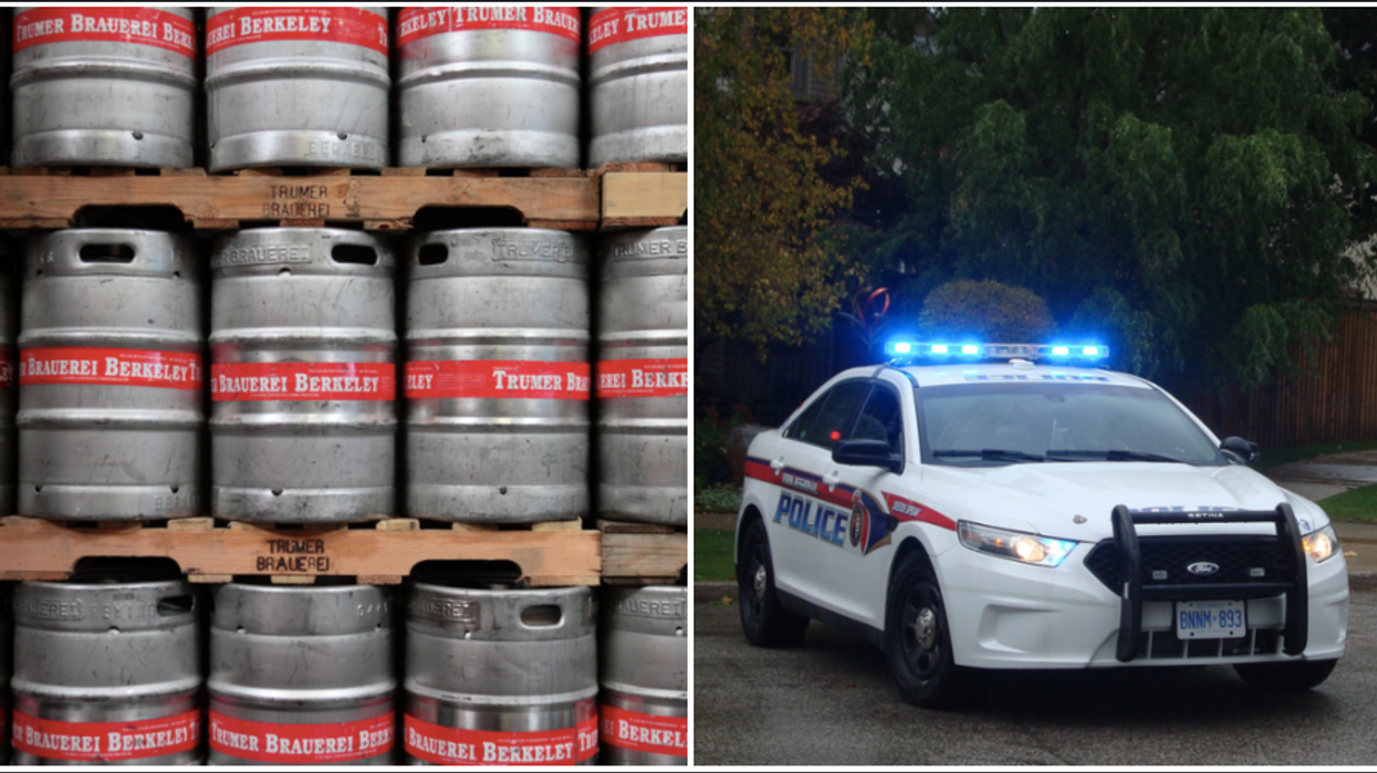 2 Canadians Just Stole Beer Kegs From A Restaurant Near Toronto And Now They're On The Run