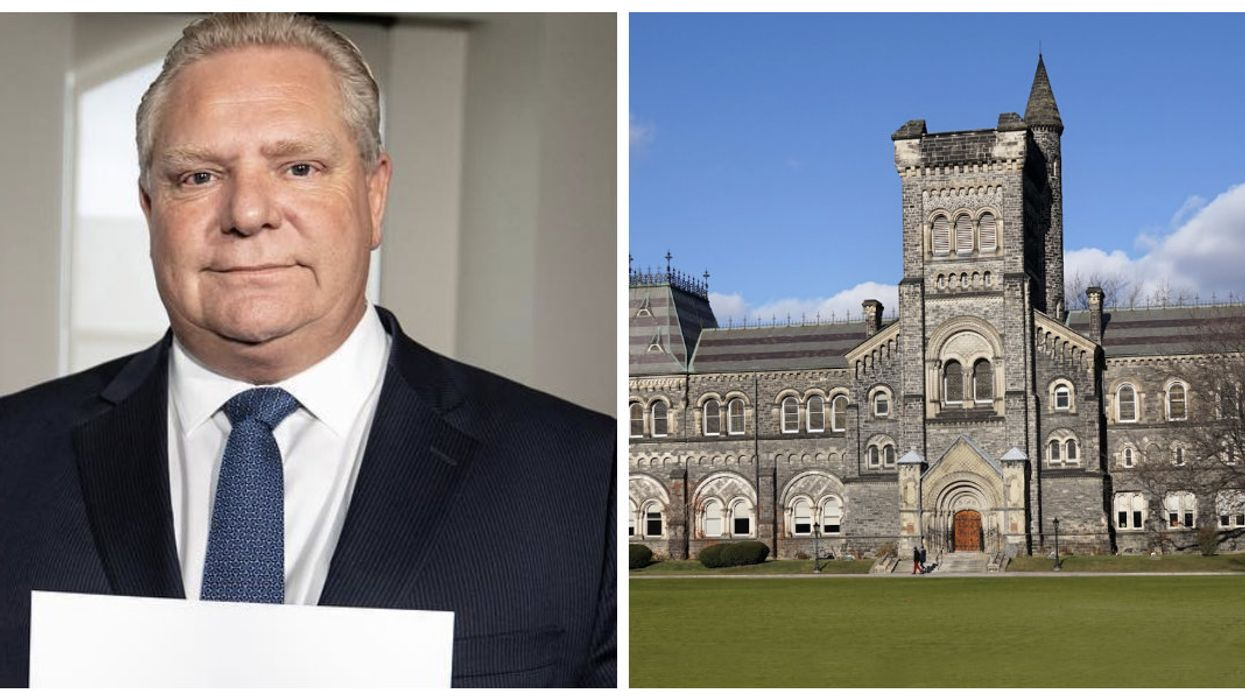 Doug Ford Is Being Called Out For Blocking Data About Campus Sexual Assaults From Being Released
