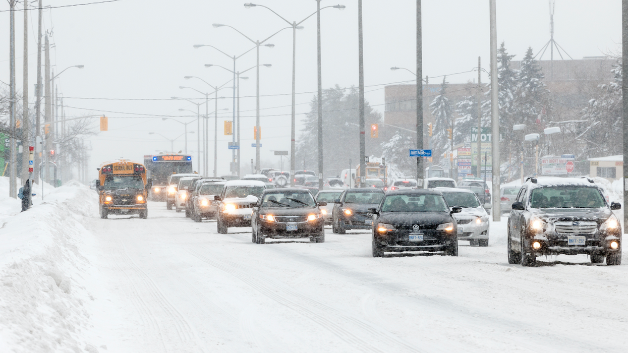 """Southern Ontario Is In For A """"Dramatic Change"""" In Weather Tonight And It's Not Looking Good"""