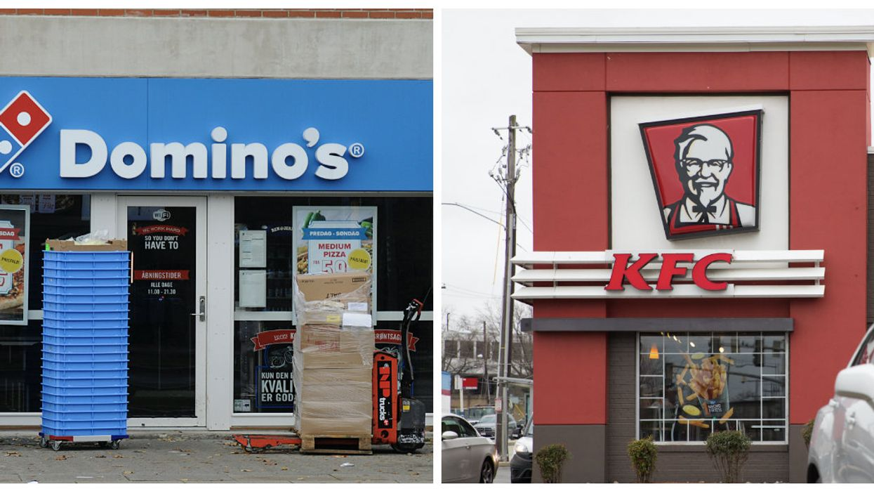 """Domino's, Subway And KFC Canada Are Being Called Out For """"Deeply Concerning"""" Treatment Of Chickens"""