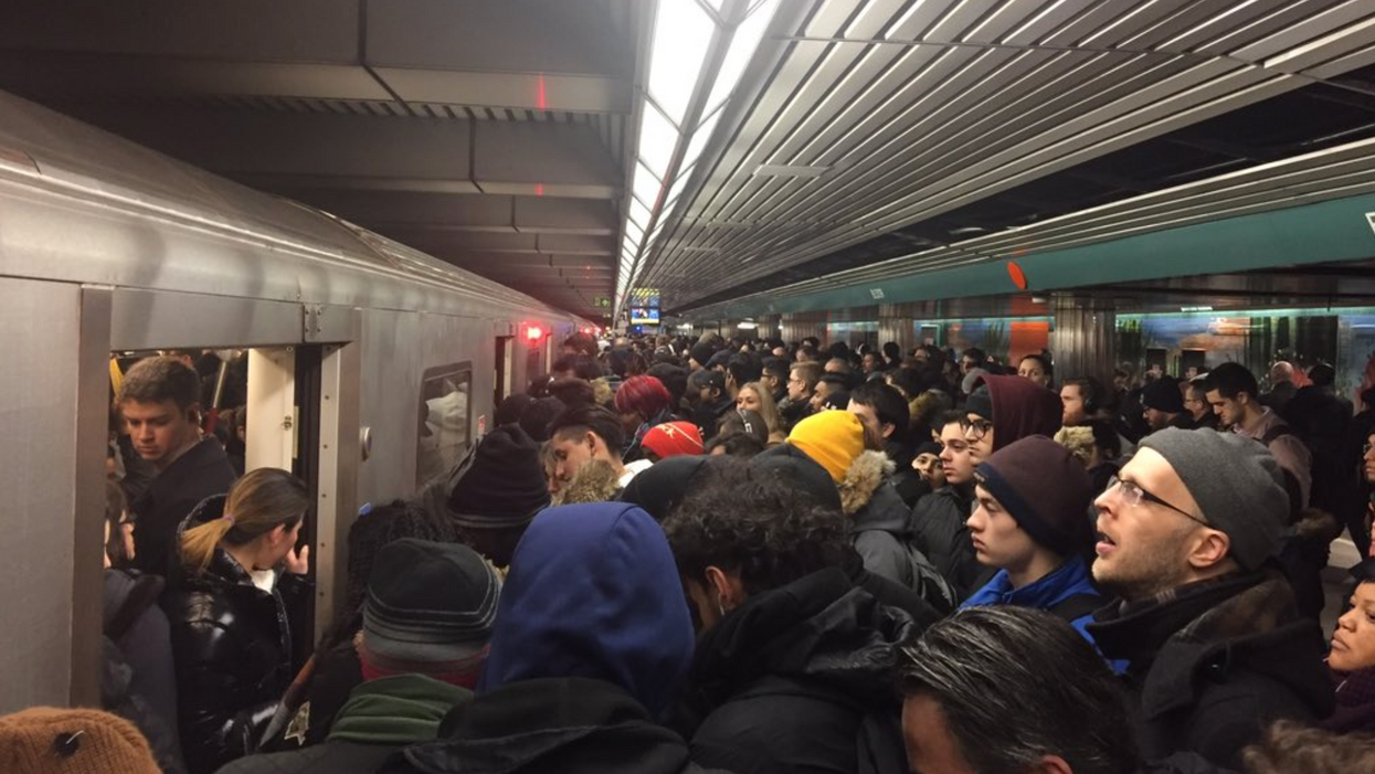 Toronto Commuters Deem This The Worst Week Ever On The TTC Following Yet Another Massive Delay
