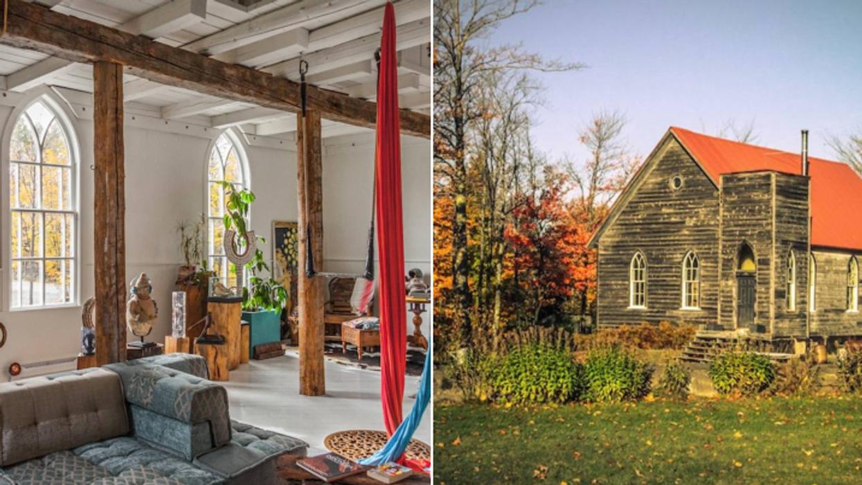 Ce Airbnb te donnera l'impression d'être en voyage à seulement 1h30 de Montréal