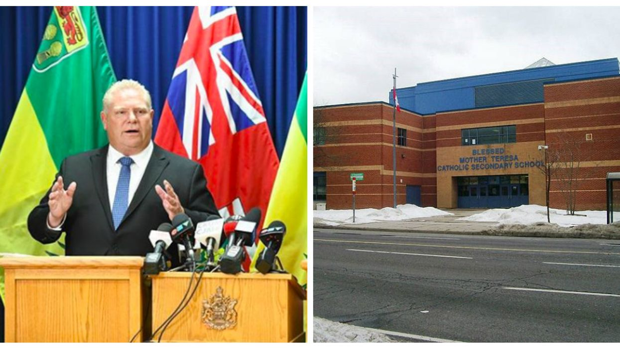 """Doug Ford's Government Plans To Make """"Concerning And Disturbing"""" Changes To Ontario Public Schools"""