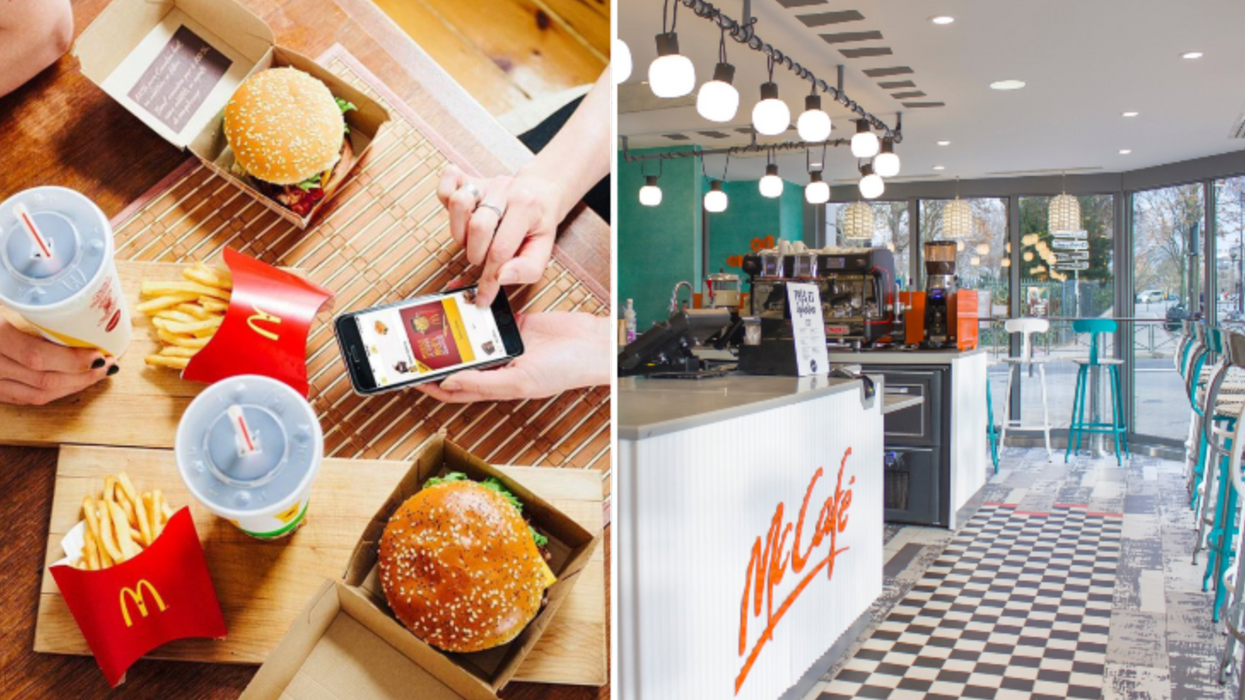 McDonald's Completely Changes Their Look In France And It's Unrecognizable