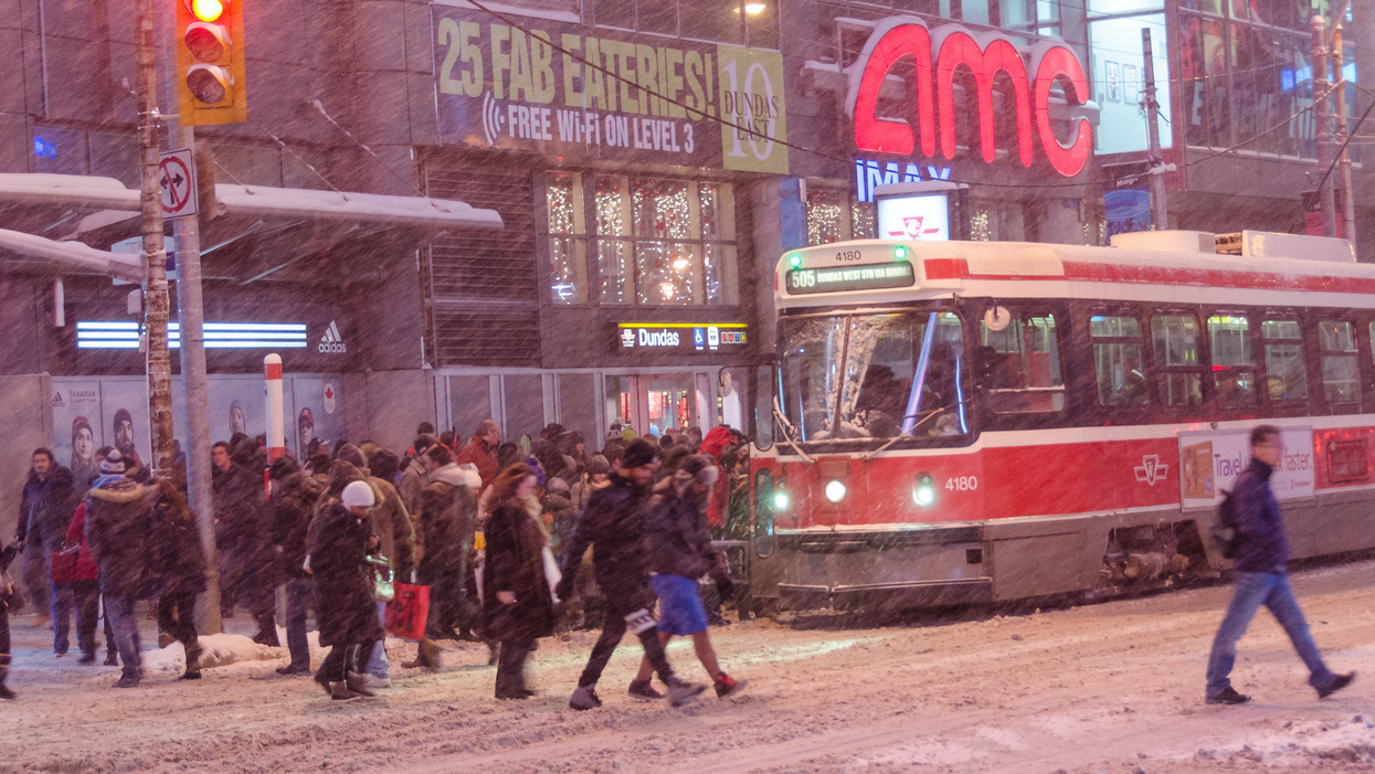 """The TTC Is Already Warning Of A """"Slow, Messy"""" Commute Home Today"""