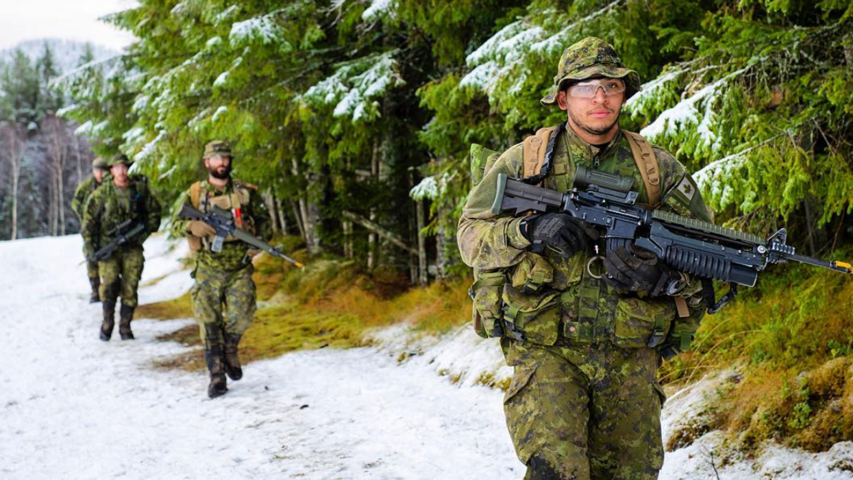 Multiple Canadian Soldiers Hospitalized For Frostbite After Training Outside In Ontario This Month