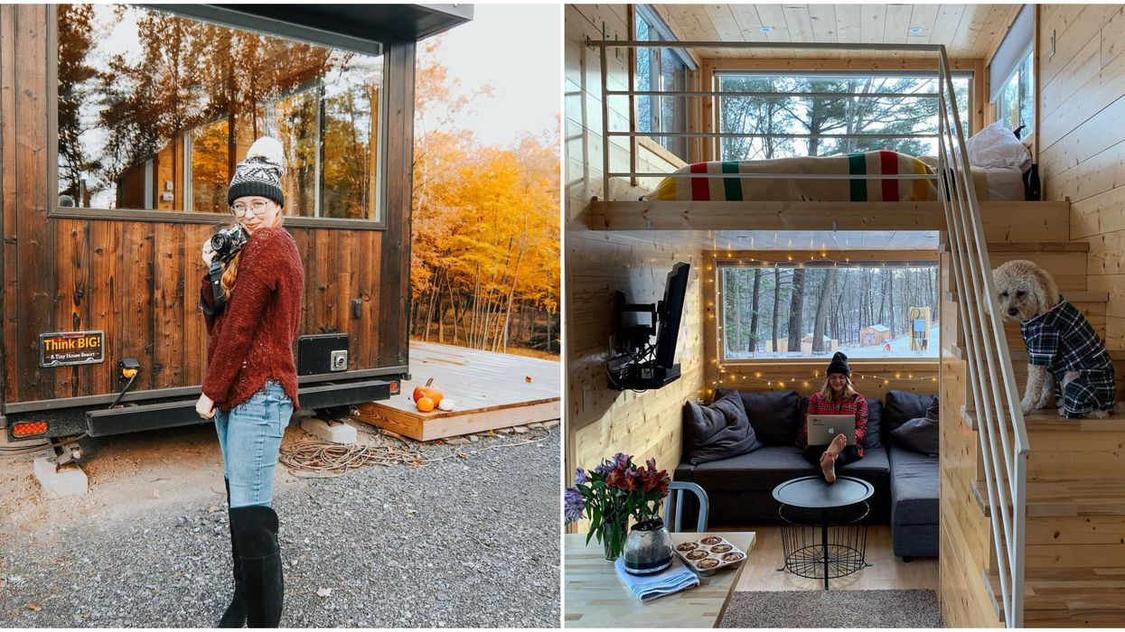 You Can Rent These Adorable Mini Cabins Near Ontario For An Enchanting Night In The Forest