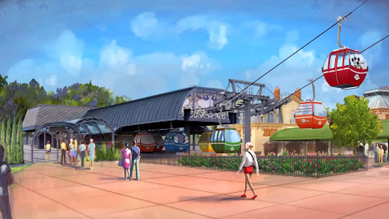 This All-New Magical Gondola System Will Allow You To Soar Above Disney World