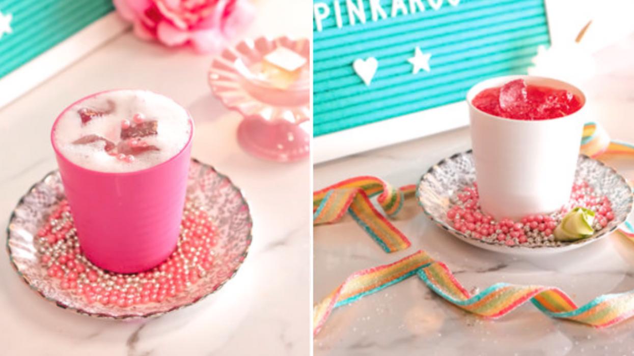 Il y aura un bar à cocktails éphémère 100% licorne à Québec pour la St-Valentin