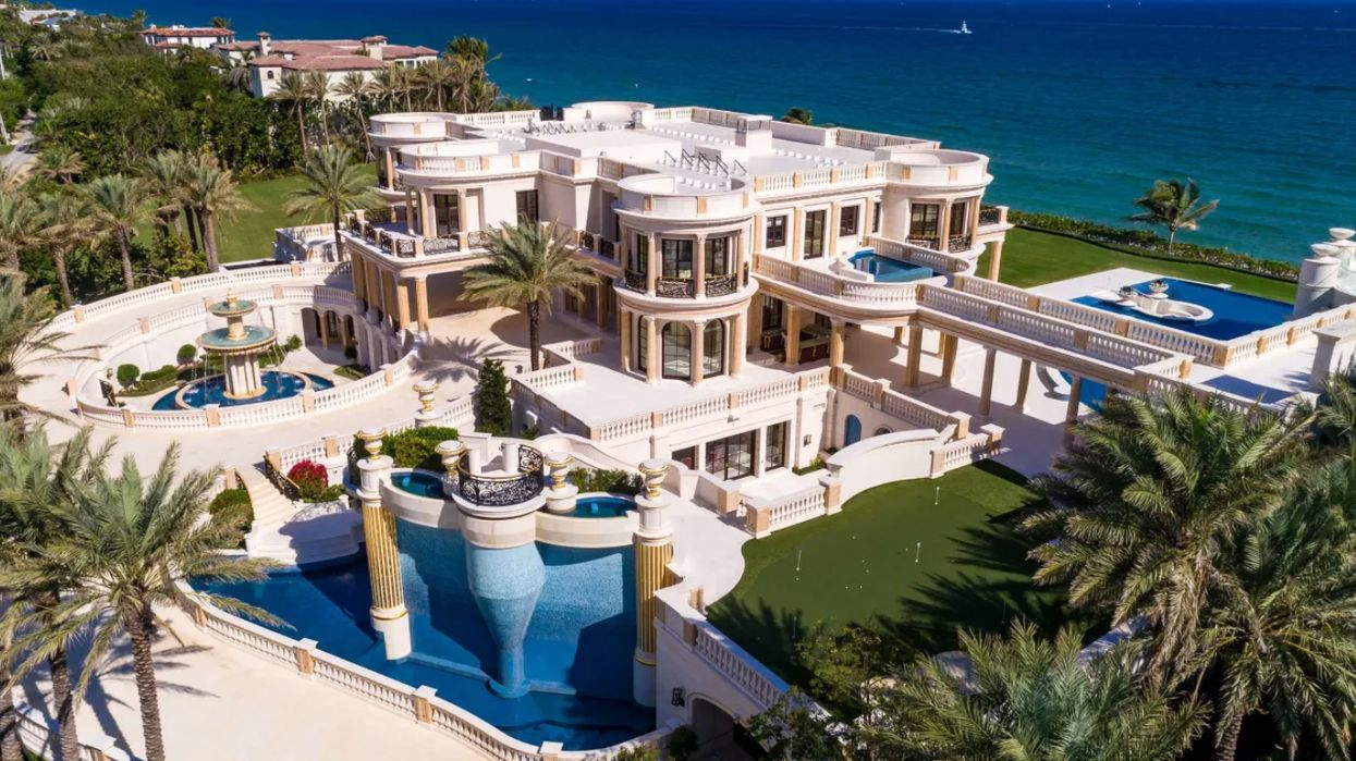 This Florida Mansion Sold For $100 Million Less Than Asking Price And We Are Shook