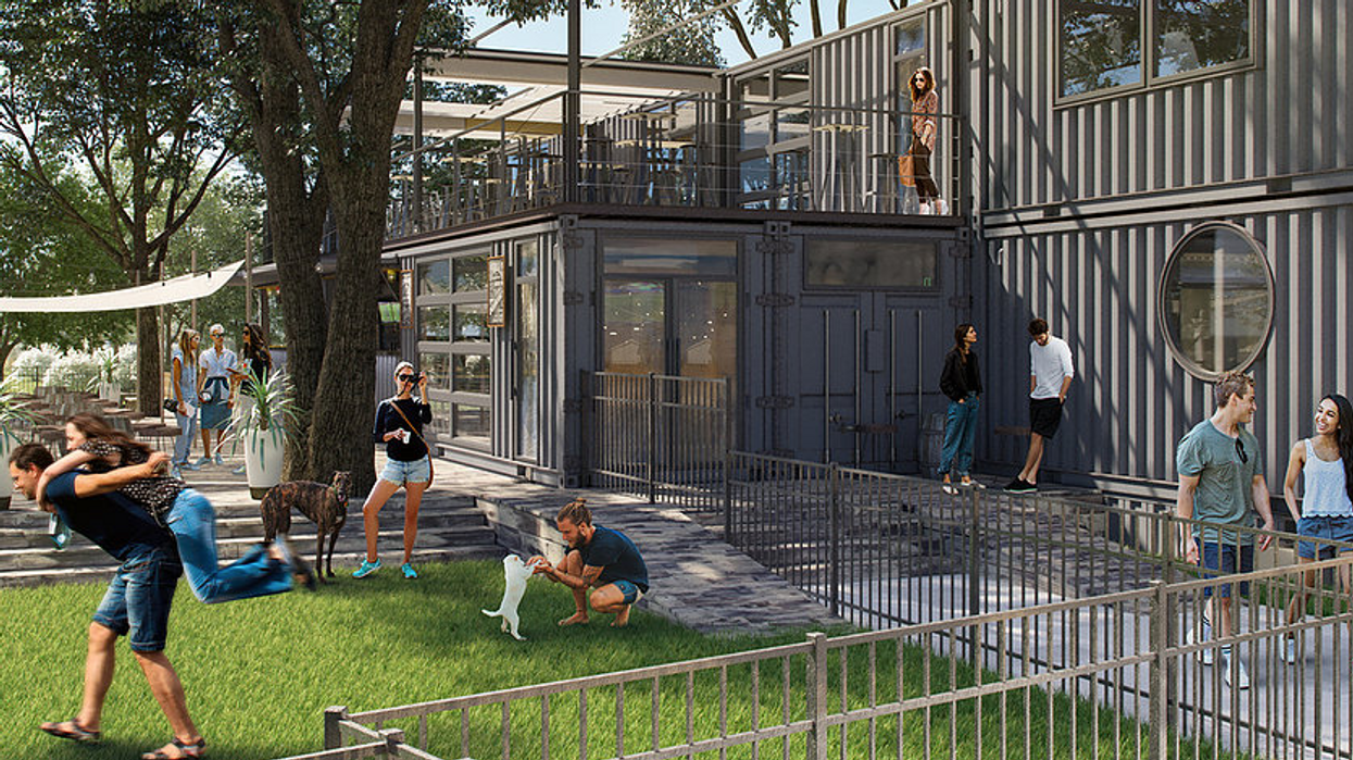 """Orlando Is Getting An Awesome New """"Dog Park Bar"""" So You Can Grab A Drink With Your Furry Friend"""