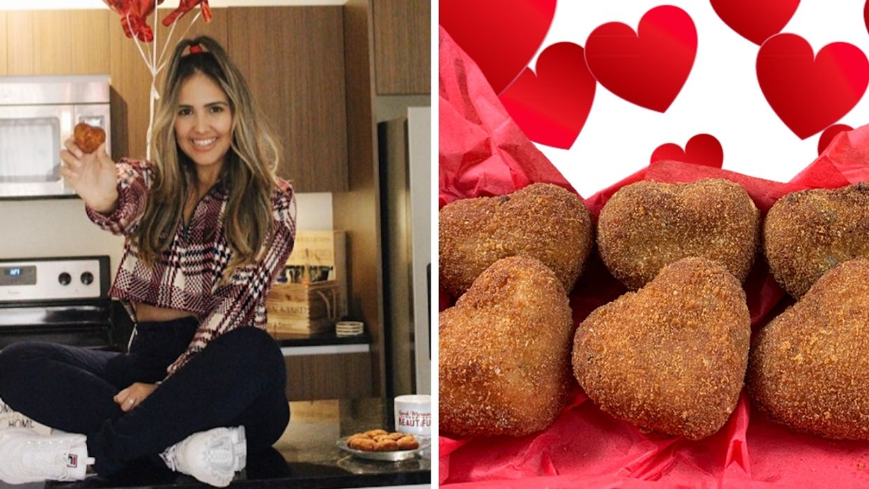 You Can Now Get Heart-Shaped Croquetas In Miami And It's More Romantic Than Roses